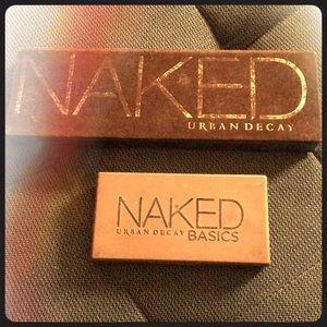 Urban Decay Naked1 & Naked Basics Palettes